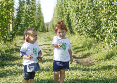 Kids in Hops